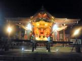 神輿のライトアップ
